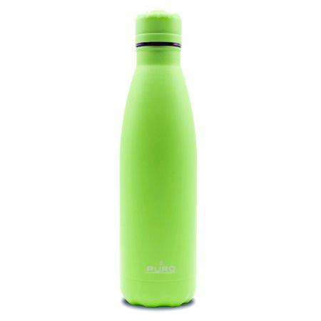 Puro Icon Fluo termo steklenica, nerjaveče jeklo, 500 ml, zelena