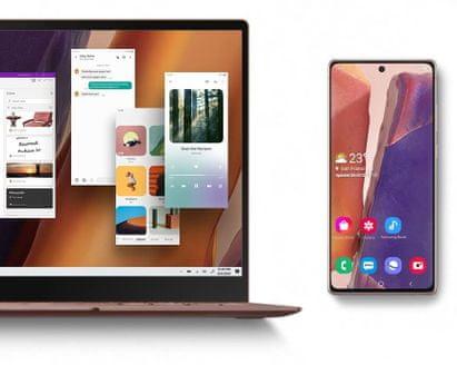 Samsung Galaxy Note20, DeX, propojení s PC