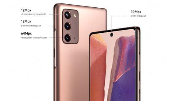 Samsung Galaxy Note20, kamera, optický zoom, super zoom