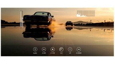 Samsung Galaxy Note20, zpomalená videa, srozumitelný zvuk