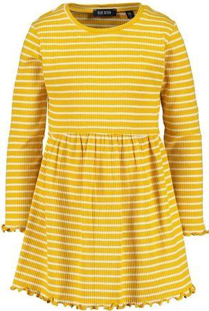 Blue Seven haljina za djevojčice, žuta, 92