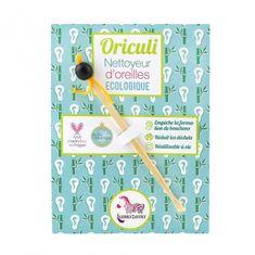 Lamazuna Oriculi zero waste bambusový čistič uší - nachový (1 ks) - jeden na celý život