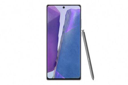 Samsung Galaxy Note20 pametni telefon, 8Gb/256GB, LTE, mistično siv