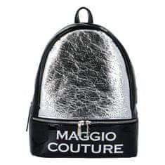 Maggio Městský dámský batoh Maggio Couture, stříbrný