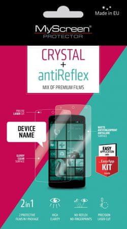 MyScreen Protector AntiReflex + Crystal zaščitna folija za Huawei P10, 2 kosa