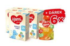Hami 24+ batoľacie mlieko 5x 600 g