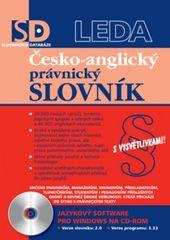 LEDA Česko-anglický právnický slovník - elektronická verze pro PC - M. Chromá