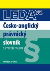 LEDA Česko-anglický právnický slovník - M. Chromá
