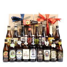 Degustační pivní set Bavorsko a Belgie 18 x