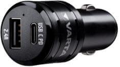 Varta Car Charger Dual USB Fast 57932101401