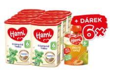 Hami 6+ pokračovacie dojčenské mlieko 6x 800g