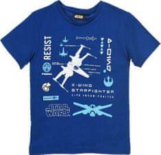 Sun City Dětské tričko Star Wars X-Wing modré bavlna Velikost: 104 (4 roky)