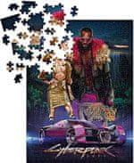 Cyberpunk 2077 – Neokitsch kirakós játék (puzzle)