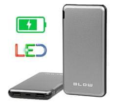 Blow PB20A Powerbank prijenosna baterija, 20000 mAh, crna/srebrna