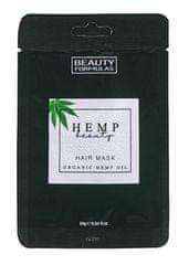 Beauty Formulas Maska na vlasy s konopným olejom 24g