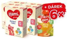 Hami 12+ batoľacie mlieko 5x 600 g