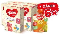 Hami 12+ batoľacie mlieko s vanilkovou príchuťou 5 x 600 g