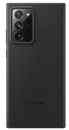 Samsung maska za Samsung Galaxy Note 20 Ultra, kožna, crna