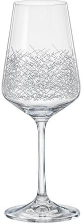 Crystalex kieliszek do wina SANDRA panto, 350 ml