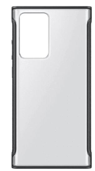 SAMSUNG Priehľadný ochranný kryt Note Ultra 20 Black EF-GN985CBEGEU