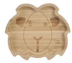 Bam Bam Bambusový tanier Lev