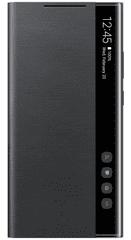 SAMSUNG Flipový Clear View Note 20 Ultra Black EF-ZN985CBEGEU