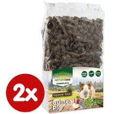 NATURE LAND Complete Mono hrana za morske prašičke, 2x 900 g