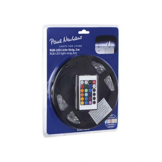 PAUL NEUHAUS PAUL NEUHAUS LED pásik, RGB, 3m dlhé, so stmievačom a vypínačom RGB PN 1199-70