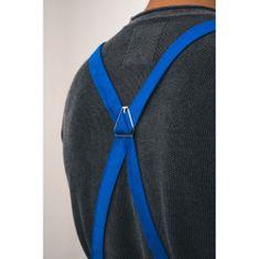 Vondrak design popruhy X - kráľovsky modré