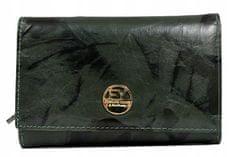 FOREVER YOUNG Elegantní dámská peněženka Johana, zelená