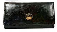 FOREVER YOUNG Originální dámská kožená peněženka Lynn, černá