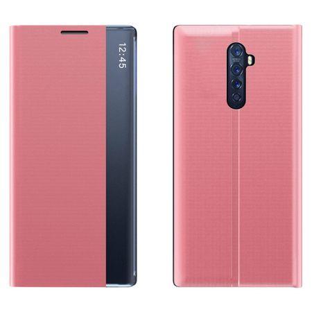 MG Sleep Case könyv tok Xiaomi Redmi Note 8 Pro, rózsaszín