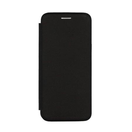 Premium Soft ovitek za Huawei P30, preklopen, črn