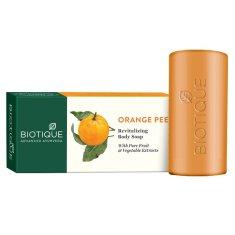 Biotique Bio telové peelingové mydlo s pomarančom - 150 g