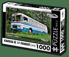 RETRO-AUTA© Puzzle BUS 3 - KAROSA ŠL 11 TOURIST (1973) 1000 dílků
