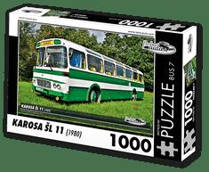 RETRO-AUTA© Puzzle BUS 7 - KAROSA ŠL 11 (1980) 1000 dílků