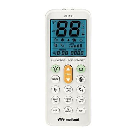 Meliconi 802101 AC100 Pilot do klimatyzacji, 802101 AC100 Pilot do klimatyzacji