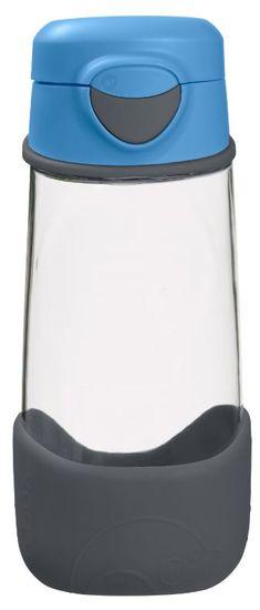 b.box Sport láhev na pití - modrá/šedá