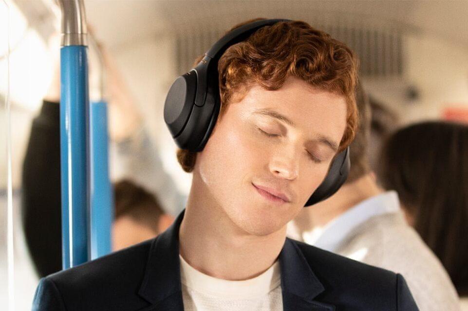 Słuchawki bezprzewodowe Sony WH-1000XM4, model 2020 aktywna redukcja szumów bluetooth