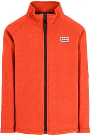 LEGO Wear lány pulóver SINCLAIR, 128, narancssárga