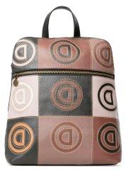 Desigual dámský hnědý batoh Back Logo Patch Nanai 20WAKP50