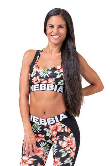 Nebbia Aloha Babe sportovní podprsenka 551 černá M