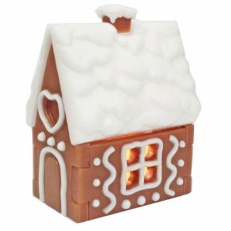 Kraftika 1pc gingerbread candy cookie house boże narodzenie xmas