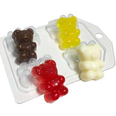 Kraftika 1db lekvár nyúlós medvék mini ünneplés gyerekek baba