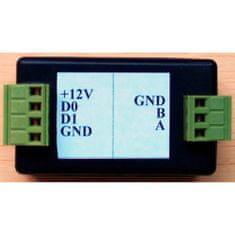 ACS Zoneway  Převodník Wiegand 26 na RS485 (RS485-WG26)