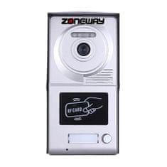 ACS Zoneway Zoneway ZW-702-1D - RFID přístupový systém/videozvonek tablo