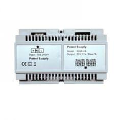ACS Zoneway Napáječ sběrnicových (2D) videozvonků power separator Zoneway ZW-206A-2S