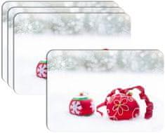 RoomDecor.eu Vianočné prestieranie-050, 4 Ks