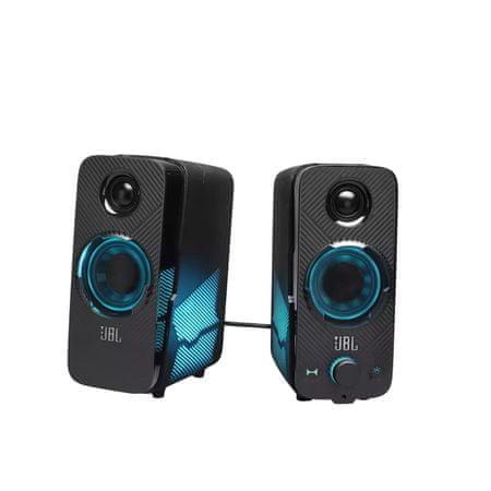 JBL Quantum Duo Gaming zvočniki, črni