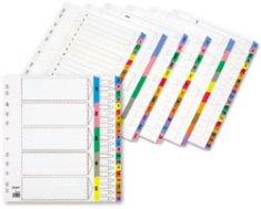 Staples register, A4, oštevilčen 1-10, bel